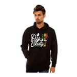 Fly Society Mens The Fly High Paradise Hoodie Sweatshirt