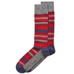 Alfani Mens Scale-Stripe Midweight Socks