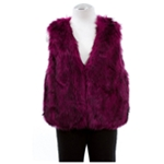 Safari Womens By Imposter Faux Fur Sweater Vest