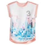Sean John Girls City Skyline Graphic T-Shirt
