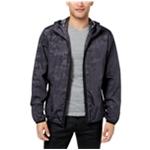 Sean John Mens Full Zip Hooded Windbreaker Jacket