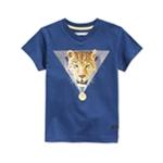 Sean John Boys Leopard V-Neck Graphic T-Shirt