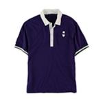 Sean John Mens Colorblock Rugby Polo Shirt
