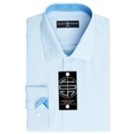 Society of Threads Mens slim Button Up Dress Shirt