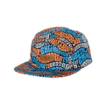 Mishka Mens The Wave ETD 5 panel Baseball Cap