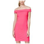 In Awe Of You Womens Ponte Knit Bodycon Dress