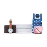 SprezzaBox Mens 5 Piece Gift Box Self-tied Necktie