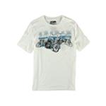 No Borders Mens Motorcycle Band Graphic T-Shirt