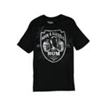No Borders Mens Hook & Barrels Rum Graphic T-Shirt