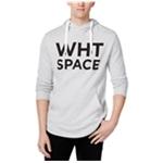 WHT SPACE Mens Logo Hoodie Sweatshirt