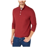 Tommy Bahama Mens Cold Springs Mock-Collar Henley Sweater