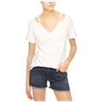 Sanctuary Clothing Womens Cutout Basic T-Shirt