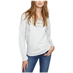 Sanctuary Clothing Womens Lace-up Sweatshirt