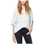 Sanctuary Clothing Womens Ruffled Basic T-Shirt