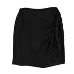 bar III Womens Chiffon Knot Asymmetrical Skirt