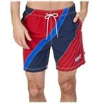 Nautica Mens Colorblocked Swim Bottom Trunks
