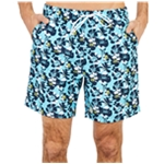 Nautica Mens Floral Swim Bottom Trunks