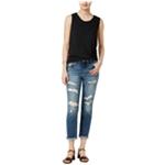 Joe's Womens Ripped Slim Fit Jeans