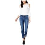 Joe's Womens Fringe Skinny Fit Jeans