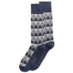 Alfani Mens Triangle Stripe Midweight Socks