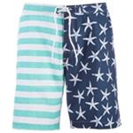Trunks Mens Starfish Stripes Swim Bottom Trunks