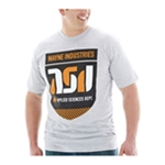 Bioworld Mens Wayne Industries Graphic T-Shirt