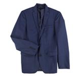 bar III Mens Plaid Two Button Blazer Jacket