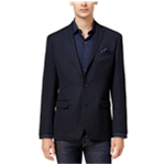 bar III Mens Slim-Fit Neat Knit Two Button Blazer Jacket