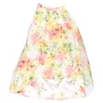 City Studio Womens Floral A-line Skirt