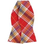 Countess Mara Mens Classic Plaid Bow Tie