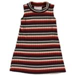 Bonnie Jean Girls Striped Bodycon Dress