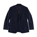 Ralph Lauren Mens Textured Plaid Two Button Blazer Jacket