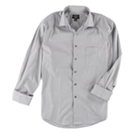 Alfani Mens Zig Zag Button Up Dress Shirt