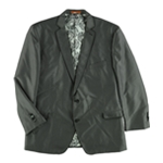Tallia Mens Patterned Two Button Blazer Jacket