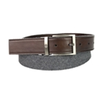 Ryan Seacrest Distinction Mens Mixed Media Belt