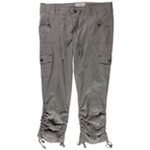 Max Studio London Womens Drawstring Casual Cargo Pants