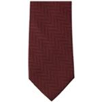 Michael Kors Mens Zig Zag Pattern Self-tied Necktie