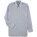 Turnbull & Asser Mens Grid Button Up Dress Shirt