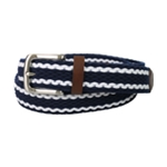 Club Room Mens Two Tone Woven Belt