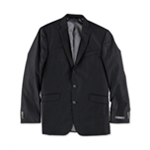Kenneth Cole Mens Glossy Two Button Blazer Jacket