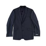 Kenneth Cole Mens Ministripe Suit Two Button Blazer Jacket