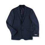 Kenneth Cole Mens Pin Stripe Two Button Blazer Jacket