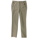 Charter Club Womens Gold Zip Casual Trousers