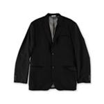 Perry Ellis Mens Textured Two Button Blazer Jacket