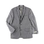 Michael Kors Mens Sharkskin Classic Fit Two Button Blazer Jacket