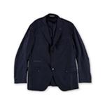 Eleventy Mens Houndsooth Two Button Blazer Jacket