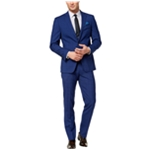 Tallia Mens Windowpane Two Button Formal Suit