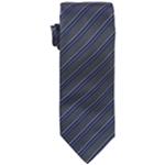 Vince Camuto Mens Roma Stripe Self-tied Necktie