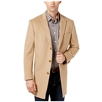 Tallia Mens Peak Lapel Overcoat Dress