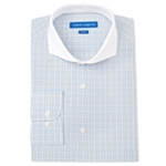 Vince Camuto Mens Check Button Up Dress Shirt